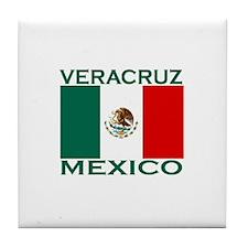 Veracruz, Mexico Tile Coaster