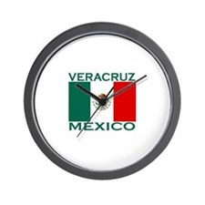 Veracruz, Mexico Wall Clock