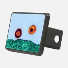 HIV particles, TEM Hitch Cover