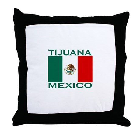 Tijuana, Mexico Throw Pillow