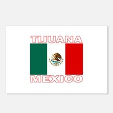 Tijuana, Mexico Postcards (Package of 8)