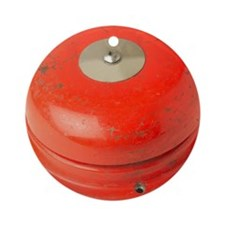 Red Fire Alarm Round Ornament