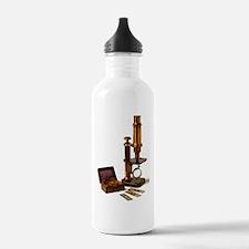 Historical microscope Water Bottle