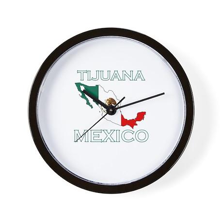 Tijuana, Mexico Wall Clock