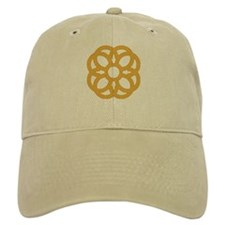 Knotwork Colored Shamrock Baseball Cap
