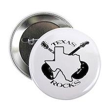 Texas Rocks Button