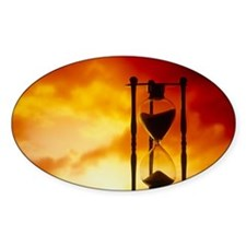 Hour-glass Decal