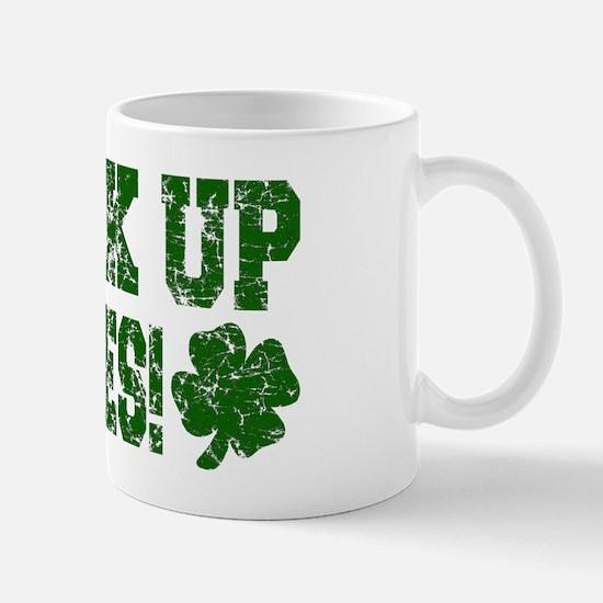 Drink Up Bitches Distressed Mug