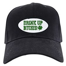 Drink Up Bitches Distressed Baseball Hat