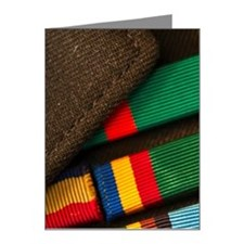 Armed services badges Note Cards (Pk of 20)
