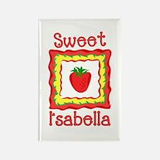 Sweet Isabella Rectangle Magnet