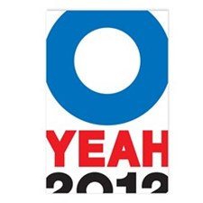 O YEAH 2012 LOGO Postcards (Package of 8)