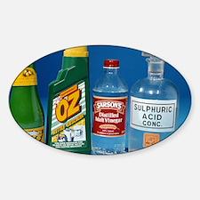 Household acids Decal