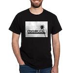 Mexico Black Palm Dark T-Shirt
