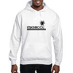 Mexico Black Palm Hooded Sweatshirt