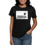 Mexico Black Palm Women's Dark T-Shirt