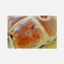 Hot cross bun Rectangle Magnet