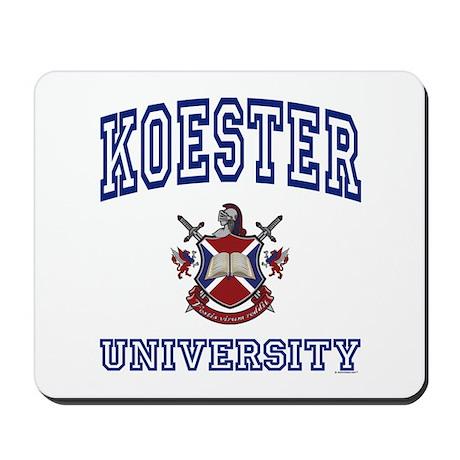 KOESTER University Mousepad