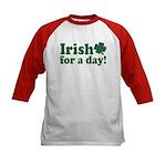 Irish for a Day Kids Baseball Jersey