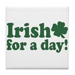 Irish for a Day Tile Coaster