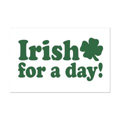 Irish for a Day Posters