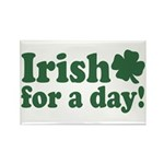 Irish for a Day Rectangle Magnet