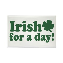 Irish for a Day Rectangle Magnet (10 pack)