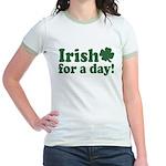 Irish for a Day Jr. Ringer T-Shirt
