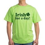Irish for a Day Green T-Shirt