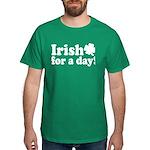 Irish for a Day Dark T-Shirt