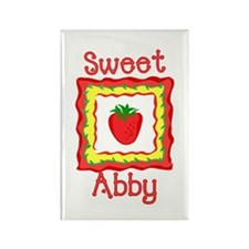 Sweet Abby Rectangle Magnet