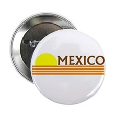 Mexico Desert Sunset Button