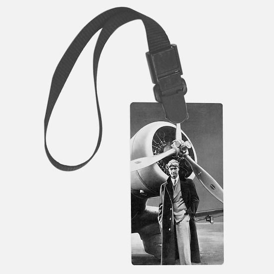 Howard Hughes, US aviation pione Luggage Tag