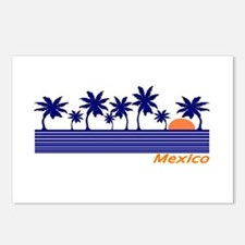Mexico Blue Sunset Postcards (Package of 8)