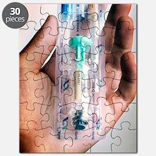 Human papillomavirus vaccine Puzzle