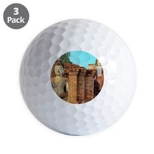 Wat Mahathat translates as great relic, Golf Ball