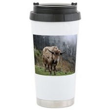 Yak on way to Yumthang Valley Travel Mug