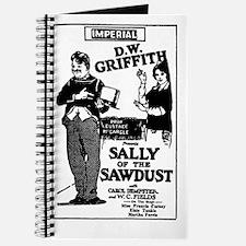 W C Fields SALLY OF SAWDUST Journal