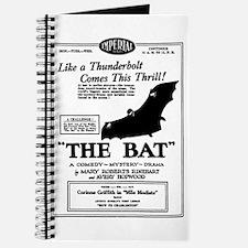 The Bat SILENT MOVIE AD Journal