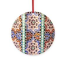 Moroccan Accent Ornament (Round)