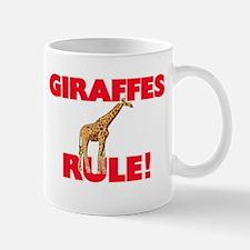 Giraffes Rule! Mugs