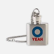 O YEAH 2012 LOGO 3 Flask Necklace