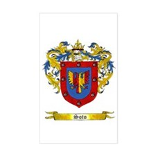 Soto Shield of Arms Rectangle Decal