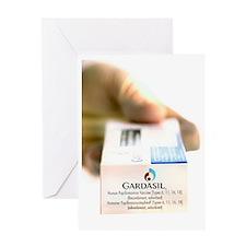 Human papillomavirus vaccine Greeting Card