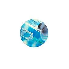 Hypodermic syringes Mini Button