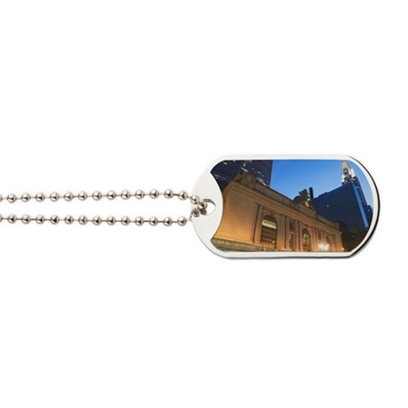 USA, New York State, New York City, low a Dog Tags