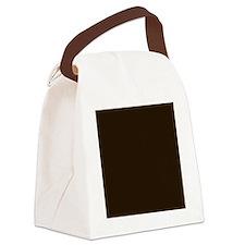 Dark Brown Canvas Lunch Bag