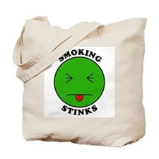 Smoking Stinks Tote Bag