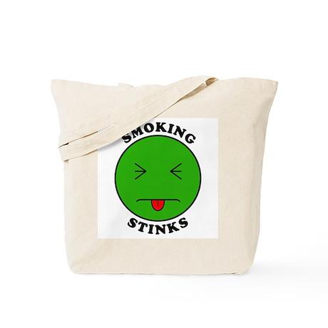 Smoking Stinks Tote Bag
