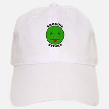 Smoking Stinks Baseball Baseball Cap